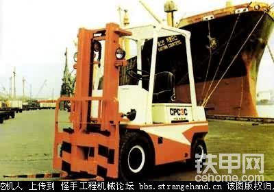 平衡重式叉車 counter balanced fork lift truck-帖子圖片