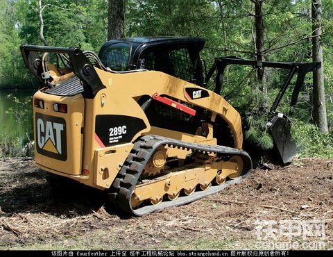 卡特彼勒(CAT)履带式滑移装载机(CTL)