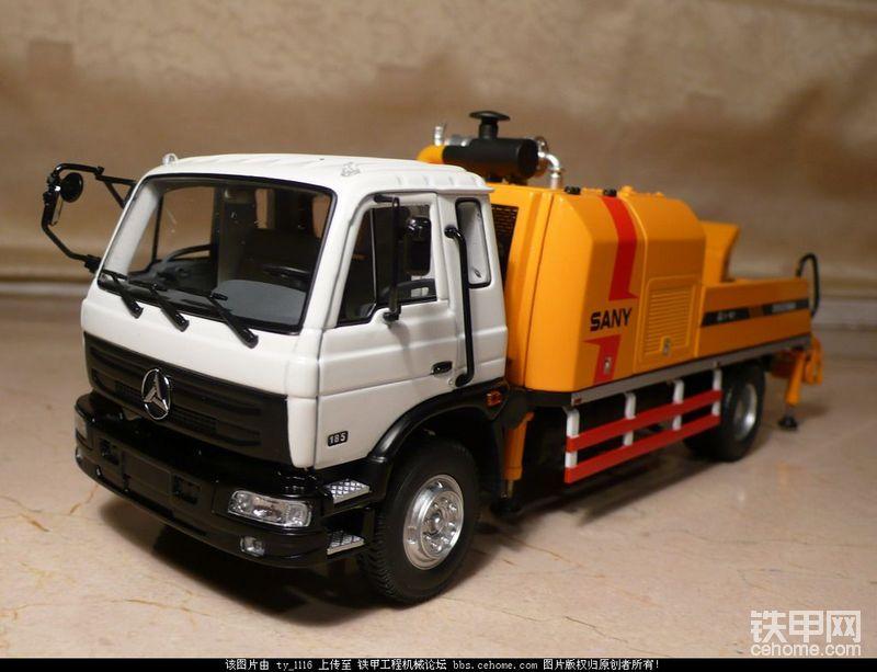 [Model]三一重工车载式混凝土输送泵车-帖子图片
