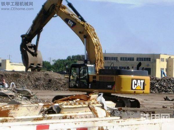 卡特挖掘机壁纸下载-帖子图片