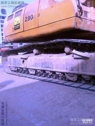 我的现代220LC-5挖掘机(带车贴)山东
